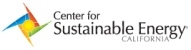 The Center for Sustainable Energy logo.