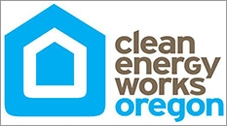 Clean Energy Works Oregon logo.