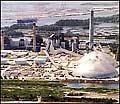Jacksonville, FL, now generates a large part of its electric power using fluidized bed combustion.