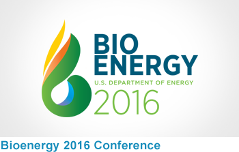 Bioenergy 2016: Mobilizing the Bioeconomy through Innovation