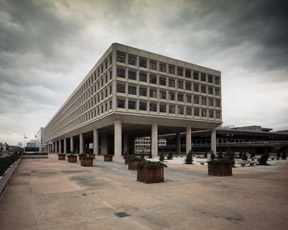 Photo of James Forrestal Building in downtown Washington, D.C., headquarters of the U.S. Department of Energy.