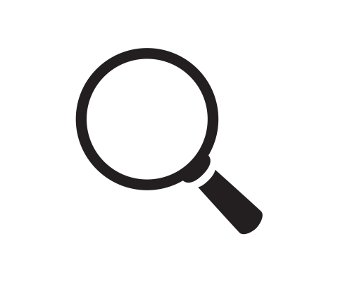Photo of a magnifying glass