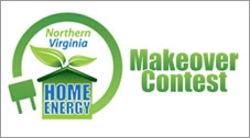 Northern Virginia Home Energy Makeover Contest logo.