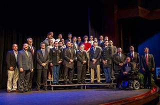 Photo of the inaugural class of Advanced Manufacturing interns.