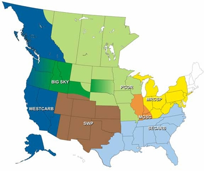 DOE's Regional Carbon Sequestration Partnerships Program