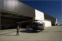 Photo of High-Bay Aviation Maintenance Facility at Butts Army Airfield