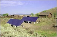 Photo of Photovoltaic System at Lamar Buffalo Ranch in Yellowstone National Park
