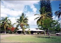 Photo of a Staff Residence at the Pacific Tsunami Warning Center in Hawaii
