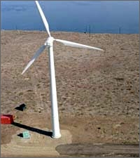 Photo of Wind Turbine on San Clemente Island, California