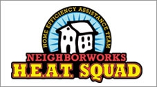The logo for Neighborworks H.E.A.T. Squad.