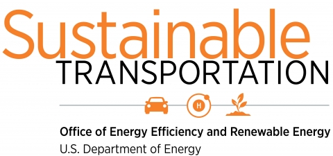 Sustainable Transportation, Office of Energy Efficiency and Renewable Energy, U.S. Department of Energy.