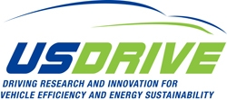 Logo for U.S. DRIVE – Driving Research and Innovation for Vehicle efficiency and Energy sustainability.