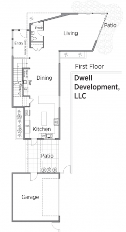 Floorplans for Dwell Development.