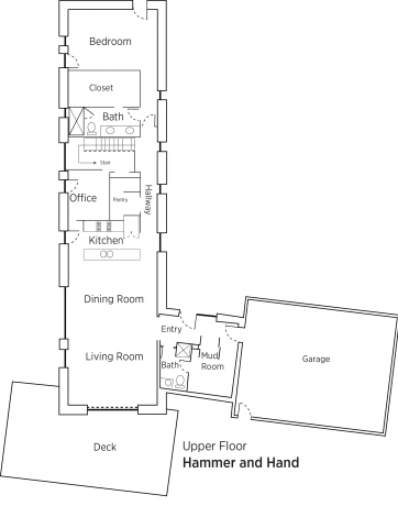 Floorplans for Hammer And Hand.