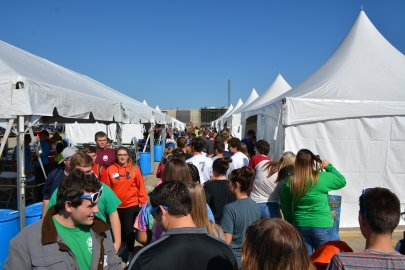 More than 1,400 educators and students participated in the 2016 Science Alliance event at DOE's Portsmouth Site in Piketon, Ohio.