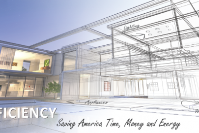 Amped Up! magazine features the Office of Energy Efficiency and Renewable Energy's growing influence on the efficiency space from appliance standards and federal sustainability goals to smart manufacturing and energy audit webisodes. | Graphic by Sarah Harmon/Energy Department