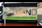 How to Build a Wind Turbine in less than 20 Minutes