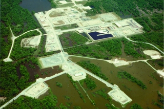 Bayou Choctaw aerial site picture