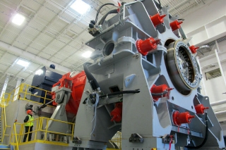 The 7.5 MW testing rig at the Clemson University Energy Systems innovation Center.jpg