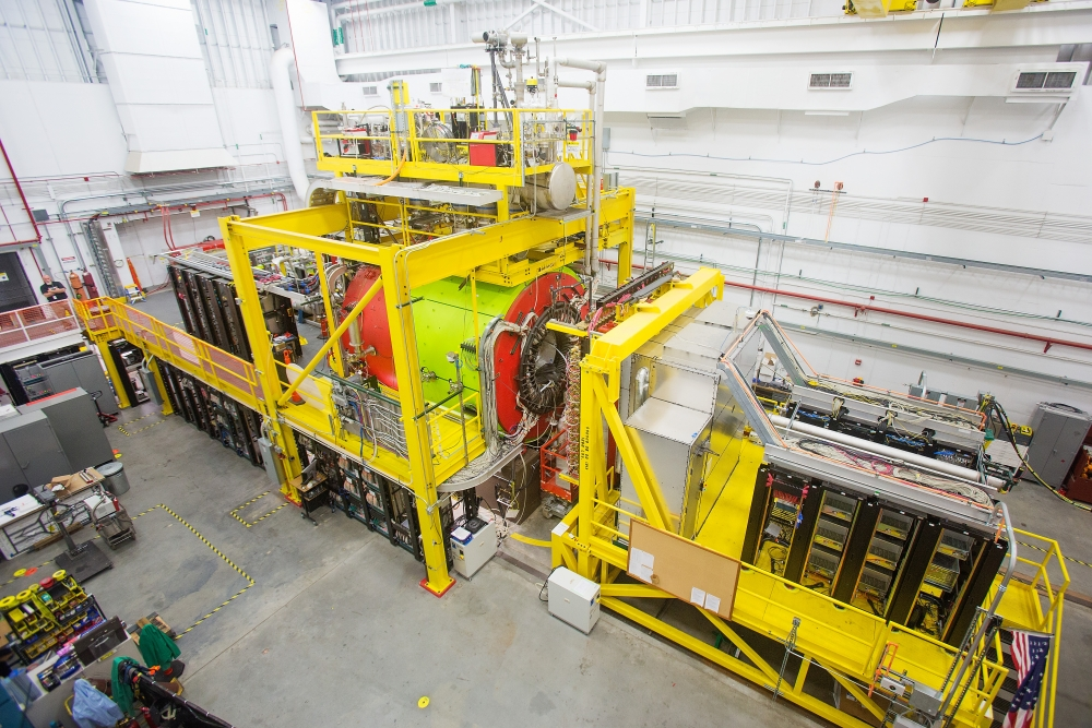 CEBAF's newest detectors are looking to find what binds quarks together. | Photo courtesy of Jefferson Lab.