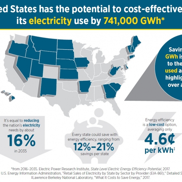 State Level Electric Energy Efficiency Potential Estimates Department Of