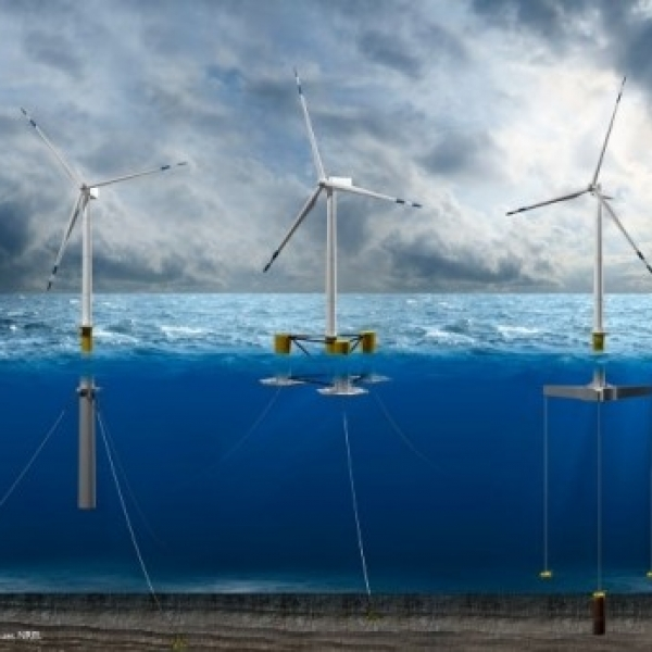 WIND ON THE WAVES: FLOATING WIND POWER IS BECOMING A REALITY ...