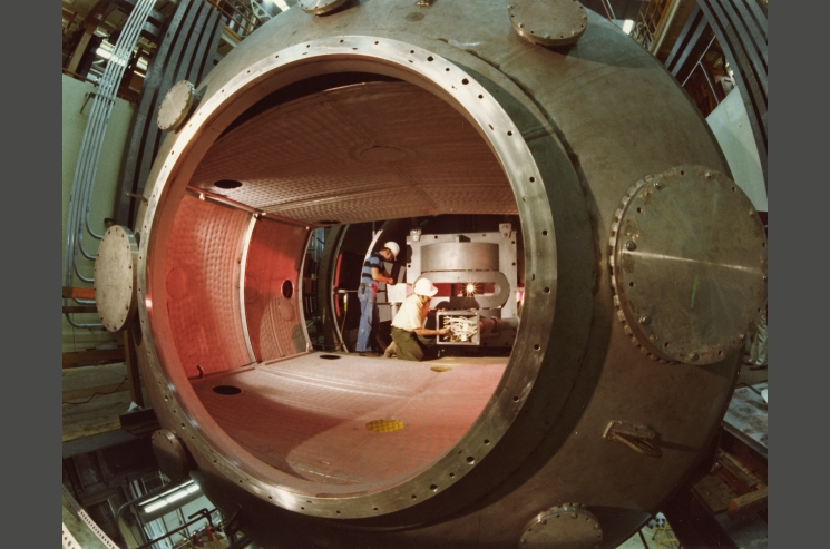 Inside the Tandem Mirror Experiment