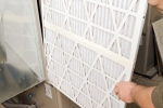 Changing filters regularly is an important part of maintaining a heat pump system. | Photo courtesy of ©iStockphoto/BanksPhotos
