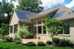 Whether a home solar electric system will work for you depends on the available sun (resource), available space for the system size you need, the economics of the investment, and the local permits required. | Photo courtesy of Decker Homes.