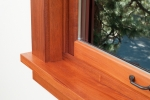 A wood-frame window with insulated window glazing. | Photo courtesy of ©iStockphoto/chandlerphoto