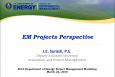 Meeting the Challenge: Integrating Acquisition and Project Management - J. E. Surash, P.E.
