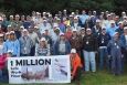 Employees of CH2M HILL Babcock & Wilcox and its subcontractors are shown during West Valley Demonstration Project's Safety Week celebration.