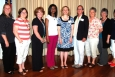 Savannah River Remediation (SRR) Project Services and Support Director Sandra Fairchild, far left, presented checks to recipients of the SRR 2014 STAR Scholarships during a recent ceremony. Recipients, second from left to right, are Nancy Brady-Wood, Kelly Edwards Elementary School, Williston, S.C.; Allison Childers, A. Brian Merry Elementary School, Augusta, Ga.; Mary Hellen Cochran, Greendale Elementary School, New Ellenton, S.C.; La'Kendra Garrett, Merriwether Elementary School, Edgefield County, S.C.; Christi McWaters, East Aiken School of the Arts, Aiken, S.C.; Debbie Murphy, Gracewood Elementary School, Augusta, Ga.; Diane Polk, Busbee Corbett Elementary School, Wagener, S.C.; Mary Simpson, North Augusta Elementary School, North Augusta, S.C.; Theresa Spieker, Mossy Creek Elementary School, North Augusta, S.C.; and Wanda Wates, W.E. Parker Elementary School, Edgefield County, S.C. Recipients not pictured include Holly Palmer, Chukker Creek Elementary School, Aiken, S.C., and Whitten Chavis, J.D. Lever Elementary School, Aiken, S.C.