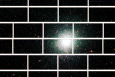 Zoomed-in image from the Dark Energy Camera of the center of the globular star cluster 47 Tucanae, which lies about 17,000 light years from Earth. | Photo by Dark Energy Survey Collaboration.