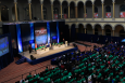 """The National Science Bowl finals take place each year in the National Building Museum. The top regional teams come to Washington, D.C., in the spring as they as they advance to National Finals. Registration is now open at the <a href=""""http://science.energy.gov/nsb/"""">NSB website</a>. 