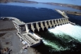 Hydropower is a major source of renewable energy in the United States.   Photo of Wanapum Dam in Washington courtesy of Grant County Public Utility District