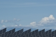 The Energy Department is investing in better solar forecasting techniques to improve the reliability and stability of solar power plants during periods of cloud coverage. | Photo by Dennis Schroeder/NREL.