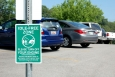 When waiting to pick your kids up from school, turn off your car instead of idling in the parking lot. | <em>Photo from Kristy Keel-Blackmon/NREL</em>
