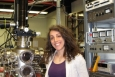 Dr. Angie Capece is an associate research physicist at the Princeton Plasma Physics Laboratory where she works in the field of plasma-surface interactions.