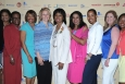 The EmpowHER Board with Dot Harris (white suit), Director of the Office of Economic Impact and Diversity at the Department of Energy and winner of the EmpowHER PathMaker Award for outreach to women and girls in STEM.