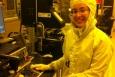 Astrid Tomada, Staff Engineer at SLAC National Accelerator Laboratory.