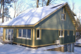 DOE Zero Energy Ready Home Case Study: BPC Green Builders, Custom Home, New Fairfield, CT