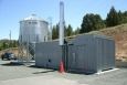Using money from the Recovery Act, Blue Mountain Hospital replaced one of its 1950s crude oil boilers with a wood-pellet boiler -- saving the hospital about $100,000 a year in heating costs.   Photo courtesy of the Oregon Department of Energy.
