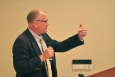 Roane County Mayor Ron Woody speaks to OREM leadership and workshop participants.