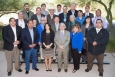 DOE Secretary Ernest Moniz, first row, third from right, gathers with Tribal leaders at the summit in Phoenix last month.