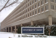 Department of Energy headquarters during the winter months. | DOE file photo.