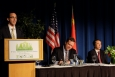 EERE International Director Rob Sandoli opens the sixth annual U.S.-China Energy Efficiency Forum. | Photo by Josh Harmon