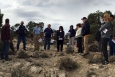 NSSAB members get a briefing on groundwater characterization elements during a tour of the Nevada National Security Site.