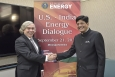 A number of EERE International projects were highlighted  at the U.S. – India Energy Dialogue, co-chaired by Energy Secretary Ernest Moniz (left) and Indian Power Minister Piyush Goyal (right) in Washington, DC.