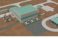 An artist's rendering of the Low Activity Waste Pretreatment System.